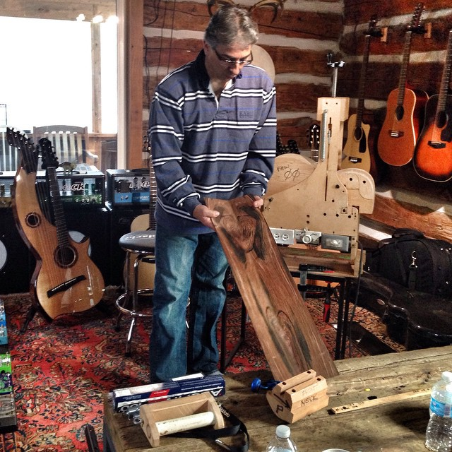 The Craft of Guitar Making