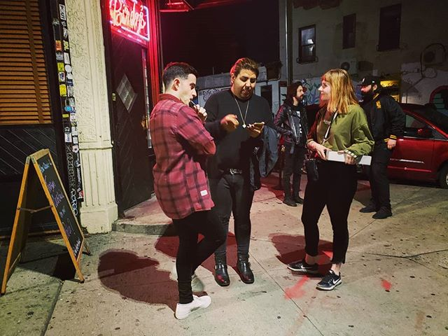 The Brooklyn Hustle is real.  #LA #VS #NY #hustle #streetfashion #literary #whiskeyginger #oldfashioned #bushwick @ashmcknn @rickieticks