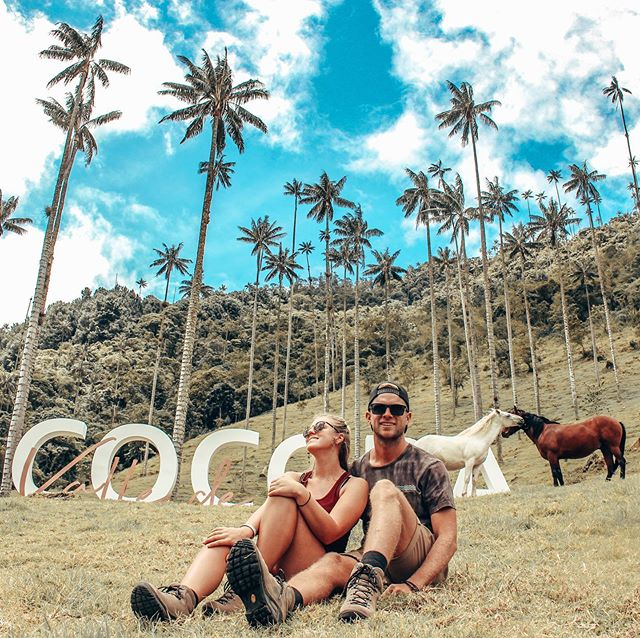 """🌴COCORA VALLEY🌴 Home to the tallest wax palm trees in the whole world! There's nothing that can make you feel quite so insignificant like a 60m palm tree 📸 Edited with our own """"Quebrada"""" preset in 5 quick minutos! . . #southamericatravel #southamerica #discoversouthamerica #experiencesouthamerica #ig_ecuador #speechlessplaces #cocoravalley #passport #valledecocora #wondermore #backpacking #lightroompresets #colombia #awesomelifestyle #travelgram #salento #visitsouthamerica #inspiredtravelcouples #incredibleplaces #adventuretravel #discoverecuador #travelcouples #photoshop #lightroomedits #travelphotography"""
