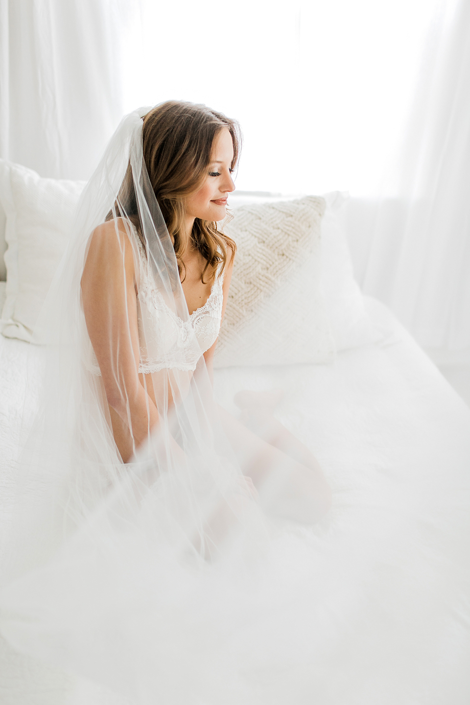 I chose Rachel for a mini session boudoir shoot, and I have never felt more comfortable and confident! I was super nervous and didn't know what to expect, but Rachel was SO fun to work with and made it so easy! I gifted the photos to my new husband the night before our wedding, and he said it is the best gift he has ever been given! The images are beautiful and tasteful and I am so so glad I stepped out of my comfort zone because I couldn't imagine a better wedding present for my now husband! - Jayde