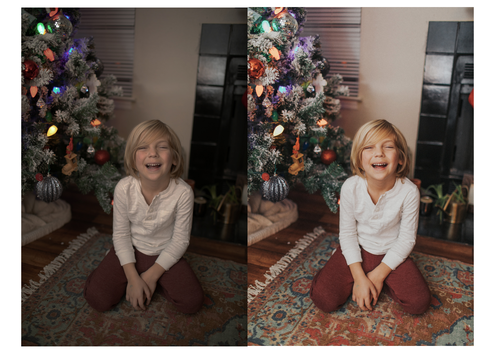 Shot on Canon 5dmk4 with 35mm lens, 1.6, 160 shutter, 400 ISO and 580EX speedlite. LEFT: SOOC. RIGHT: Edited with MEGA