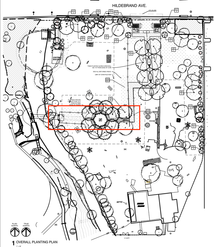 - Area of InterestPlan courtesy of RVK Architects. Used with permission.