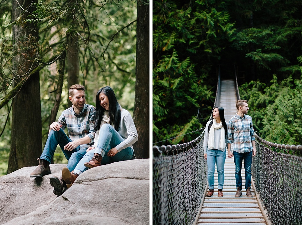 North Vancouver Lynn Canyon Lynn Valley Engagement Session Engagement Photos Andrew's Cafe Lonsdale Quay North Vancouver Wedding Photographer_0002.jpg