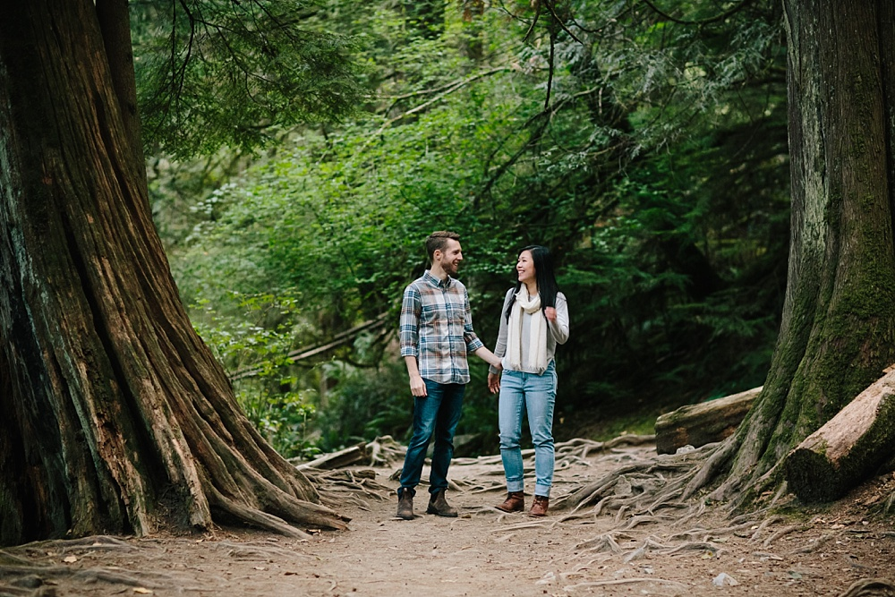 North Vancouver Lynn Canyon Lynn Valley Engagement Session Engagement Photos Andrew's Cafe Lonsdale Quay North Vancouver Wedding Photographer_0004.jpg