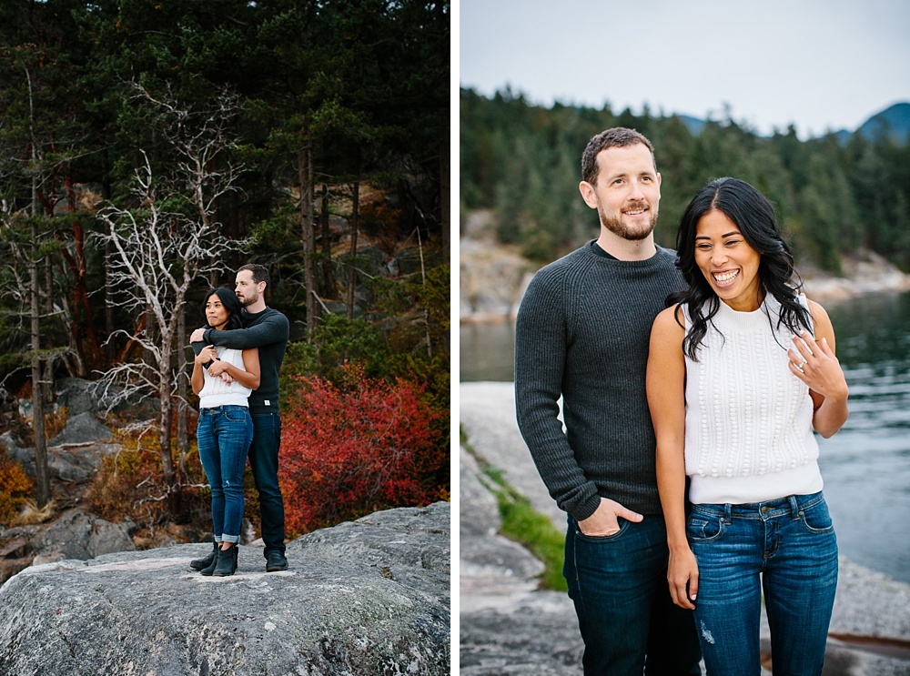 Lighthouse Park Engagement Photos West Vancouver Wedding and Couples Photographer Husband and Wife Photography Team Note Photography West Vancouver Engagement Session Vancouver British Columbia Canada Photographer_0074.jpg