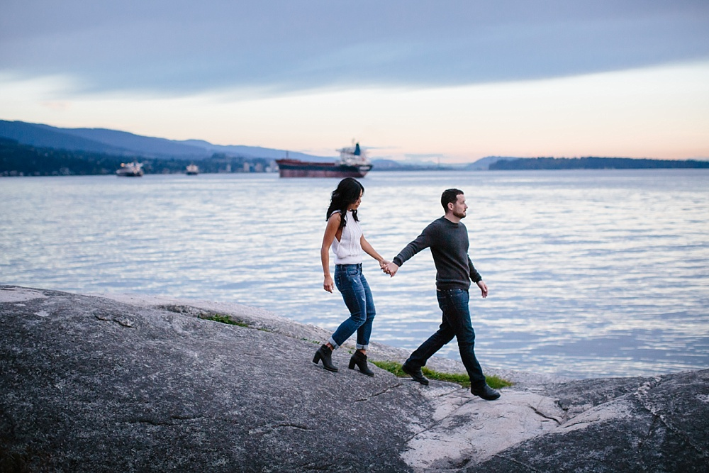 Lighthouse Park Engagement Photos West Vancouver Wedding and Couples Photographer Husband and Wife Photography Team Note Photography West Vancouver Engagement Session Vancouver British Columbia Canada Photographer_0075.jpg