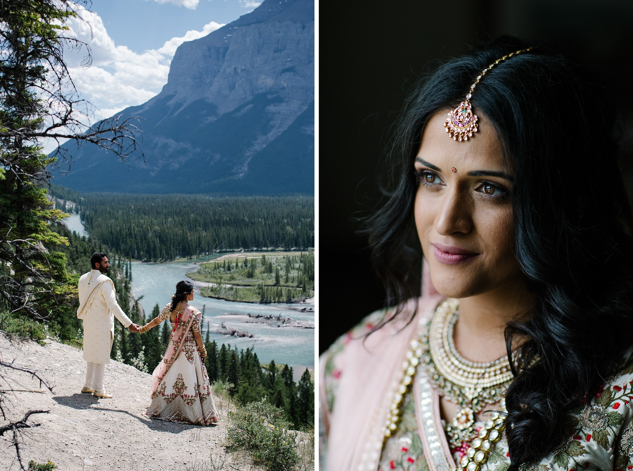 July6.RadCharan0425_Note Photography Photojournalistic Wedding Ben Nelms Documentary Photography Award Winning Rocky Mountain Banff Springs Hotel Fairmont Punjabi Indian Ceremony Baraat.jpg