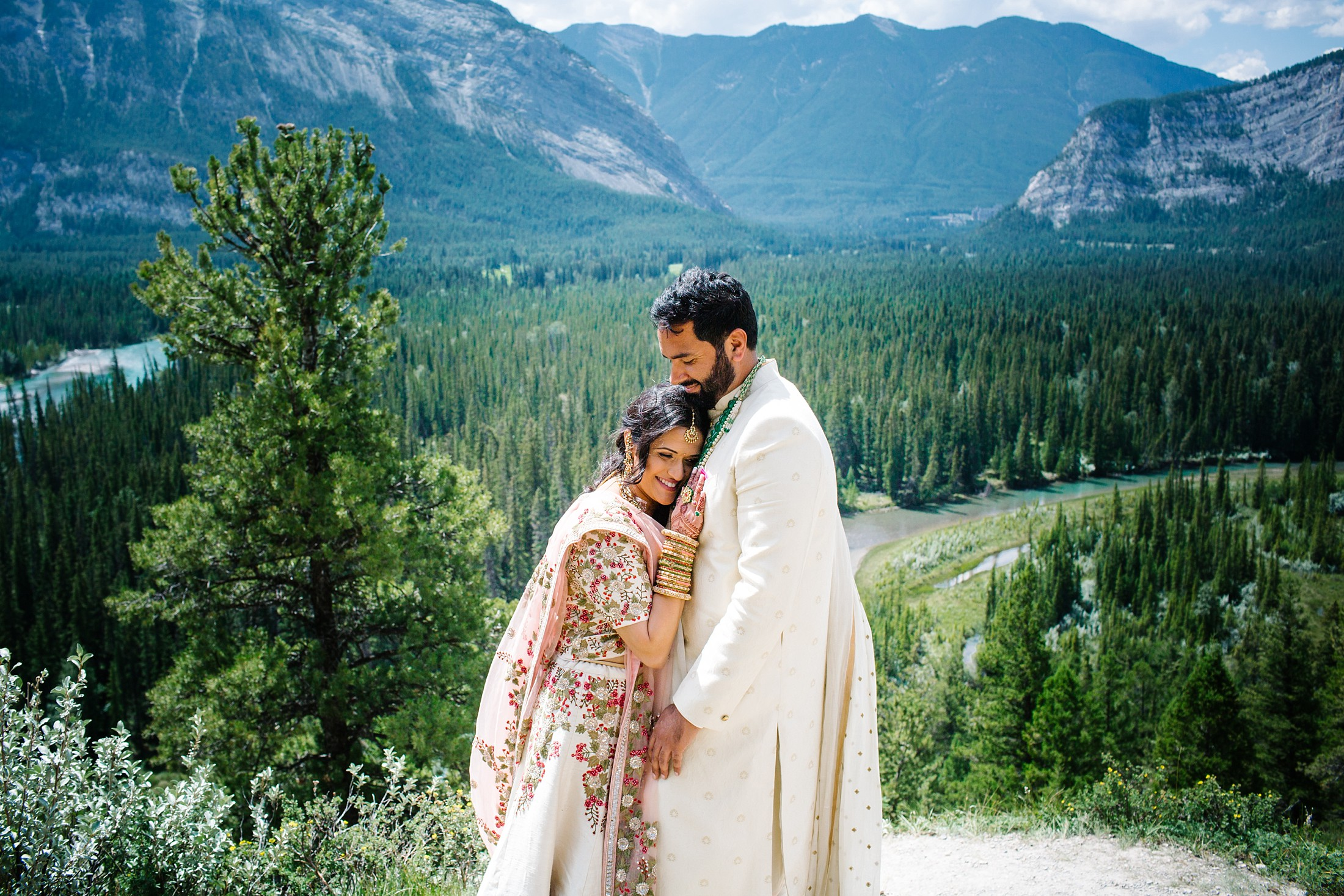 July6.RadCharan2234_Note Photography Photojournalistic Wedding Ben Nelms Documentary Photography Award Winning Rocky Mountain Banff Springs Hotel Fairmont Punjabi Indian Ceremony Baraat.jpg
