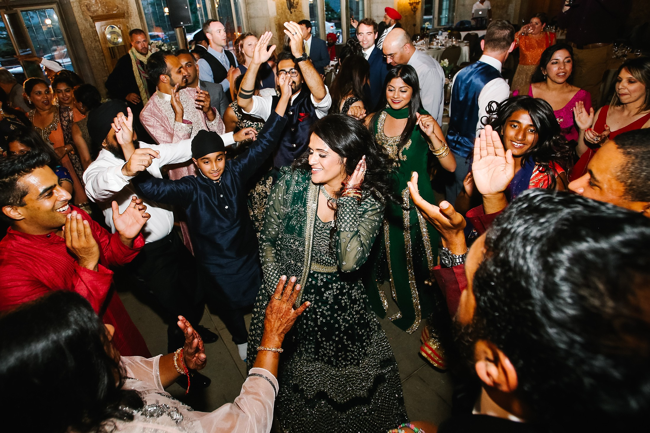 July6.RadCharan4933_Note Photography Photojournalistic Wedding Ben Nelms Documentary Photography Award Winning Rocky Mountain Banff Springs Hotel Fairmont Punjabi Indian Ceremony Baraat.jpg