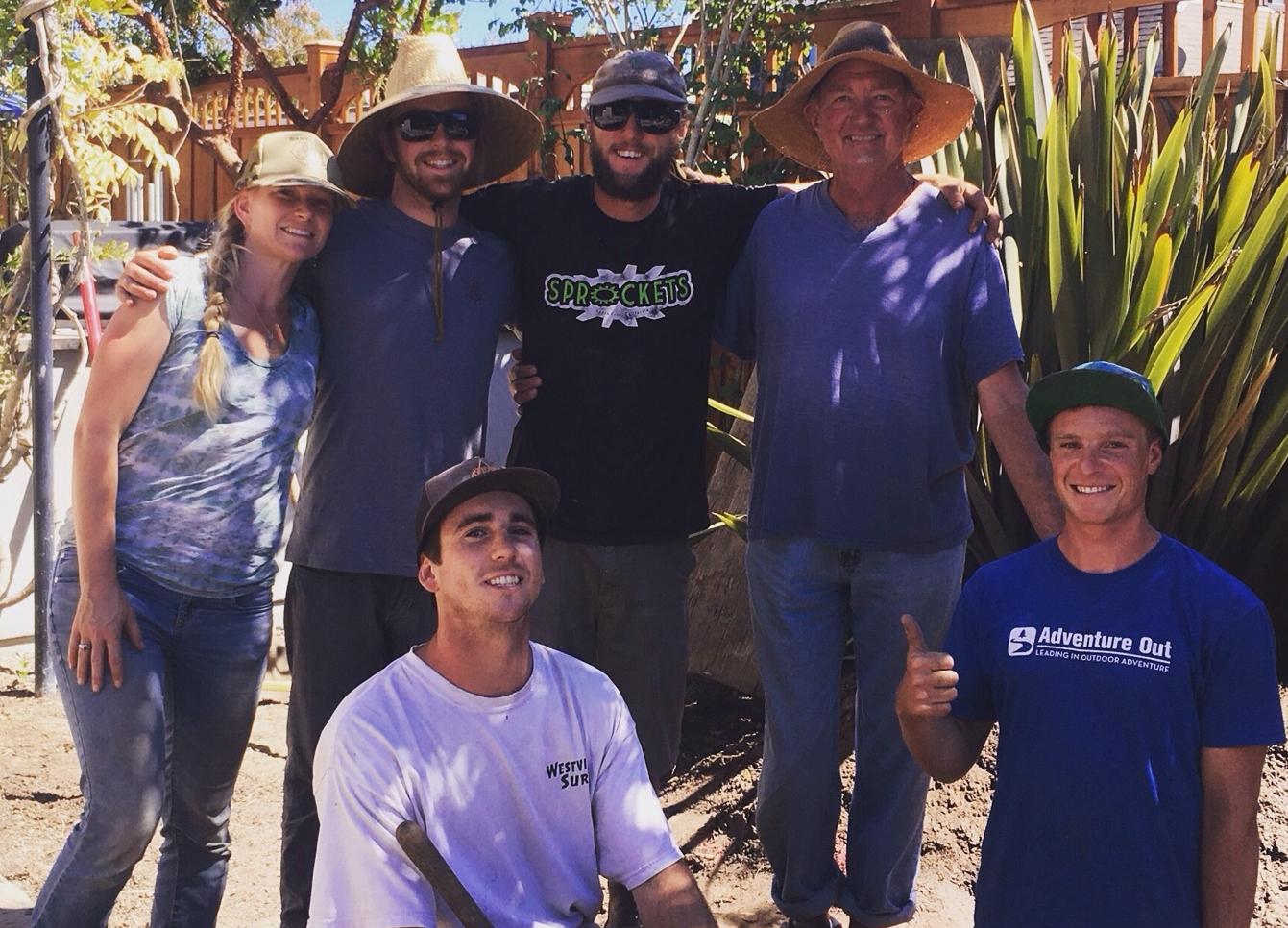 Organic Santa Cruz Landscape Team