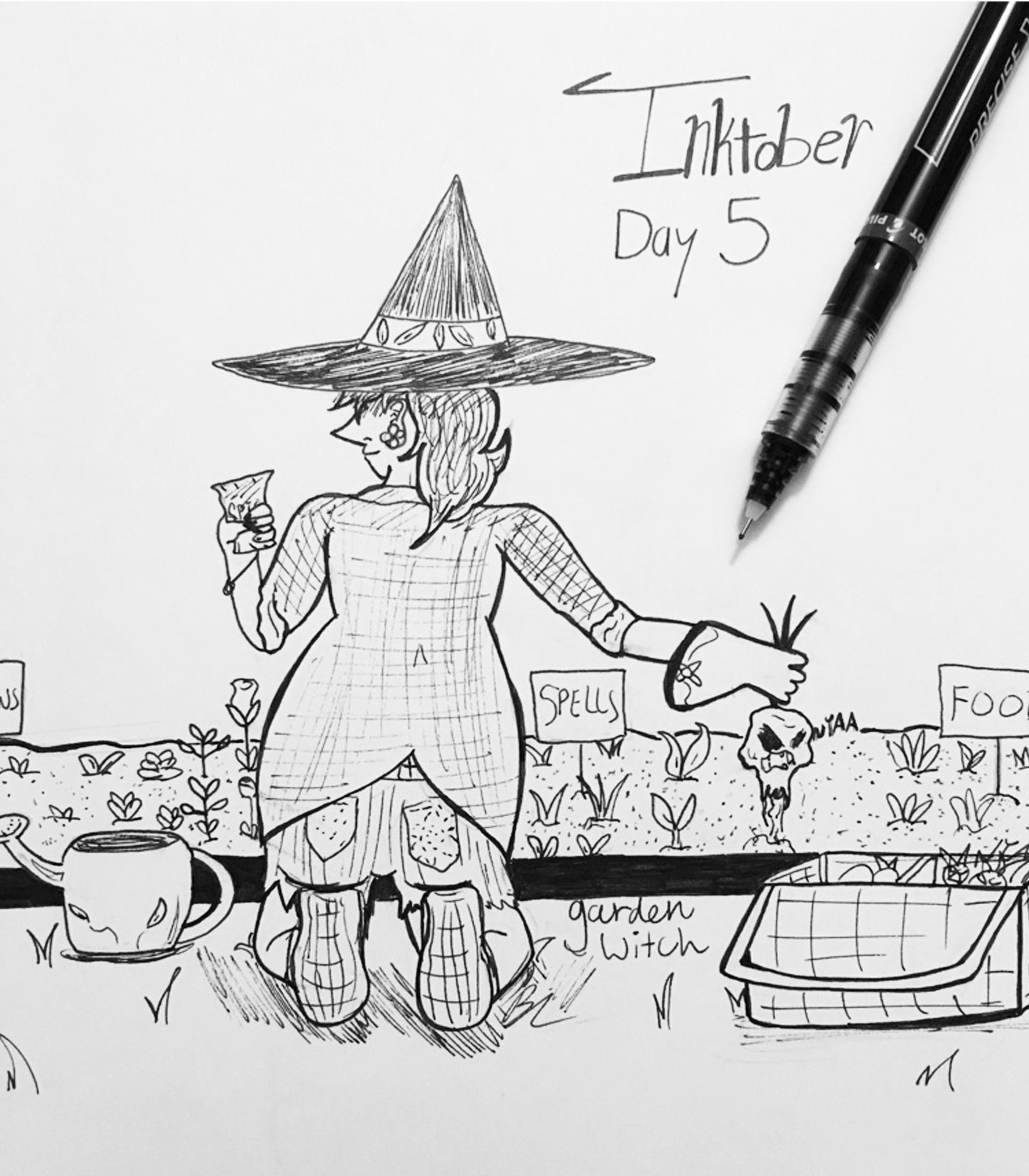 Day 5 // Garden Witch