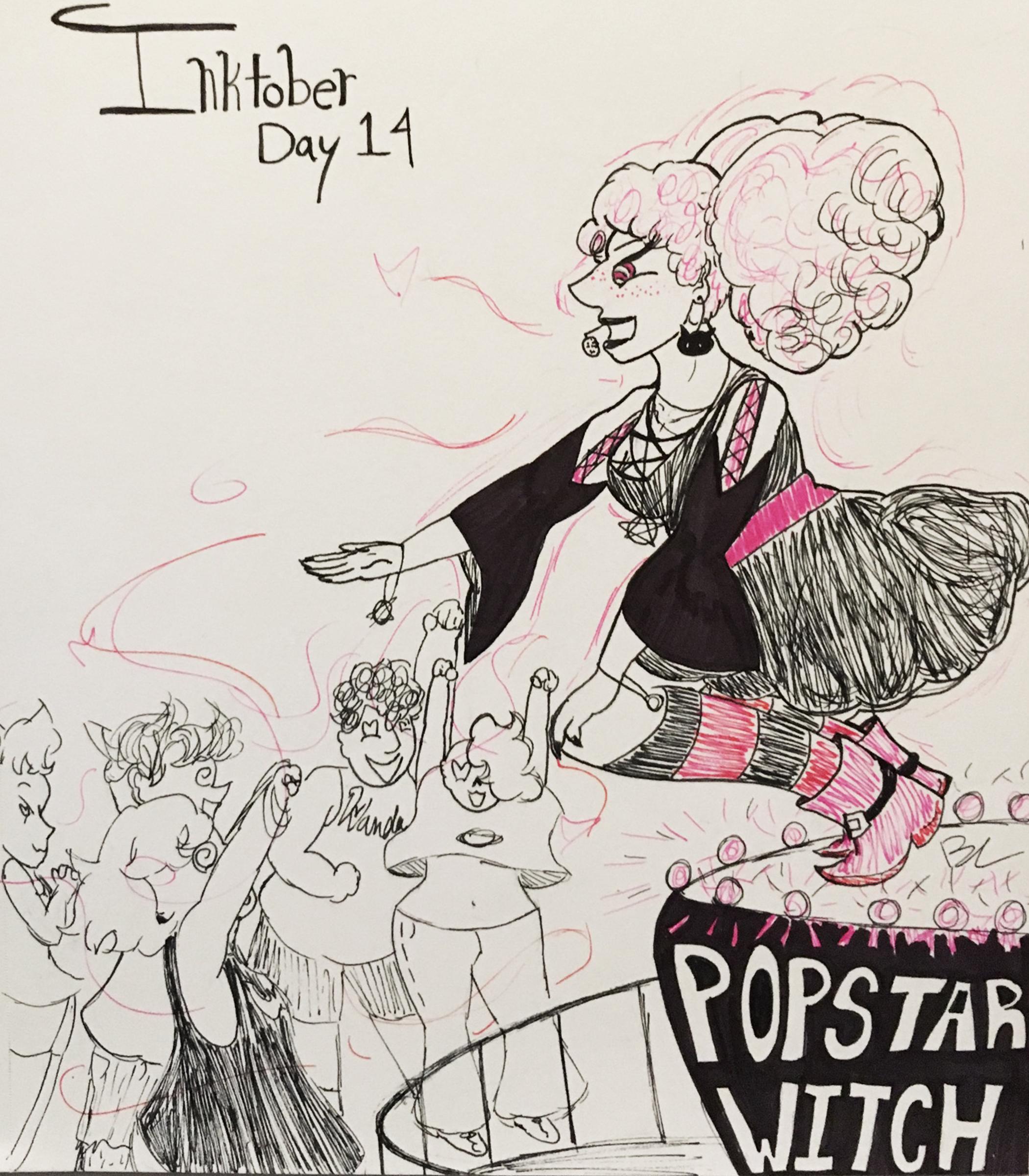 Day 14 // Popstar Witch