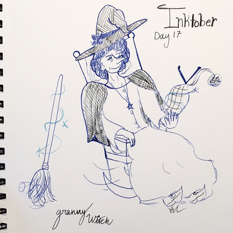 Day 17 // Granny Witch