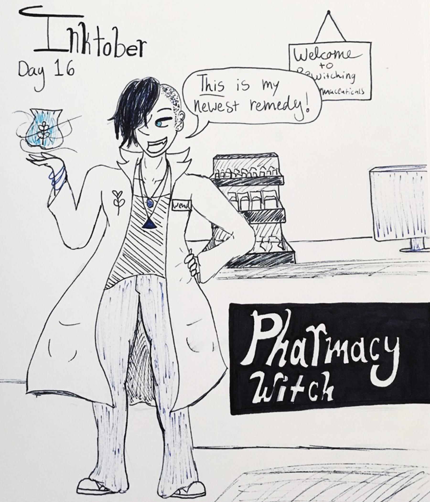 Day 16 // Pharmacy Witch
