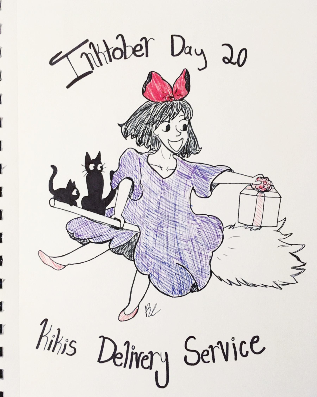 Day 20 // Kiki's Delivery Service