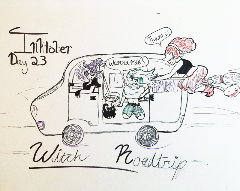 Day 23 // Witch Roadtrip