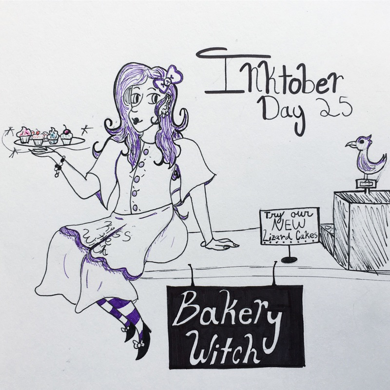 Day 25 // Bakery Witch