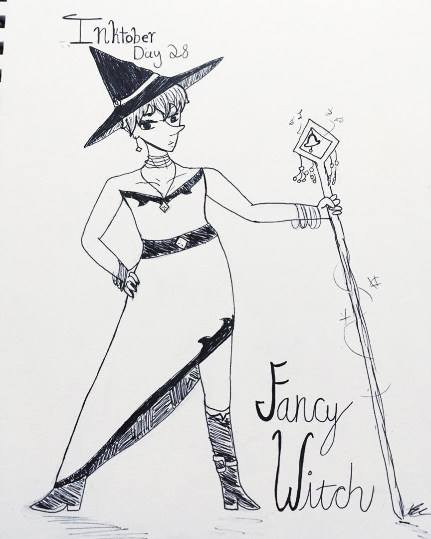 Day 28 // Fancy Witch
