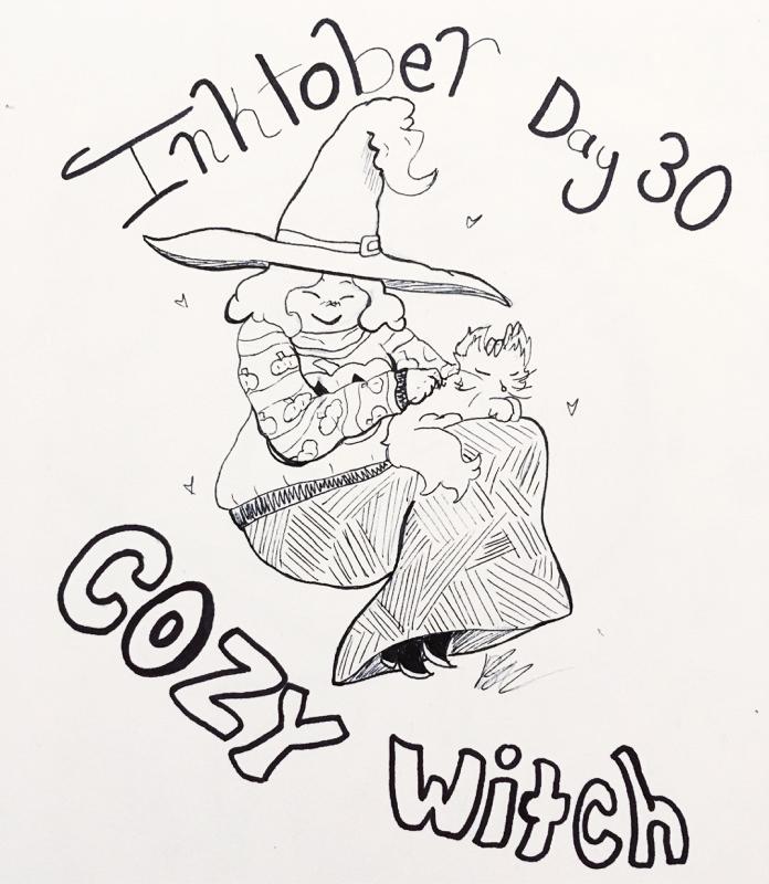 Day 30 // Cozy Witch