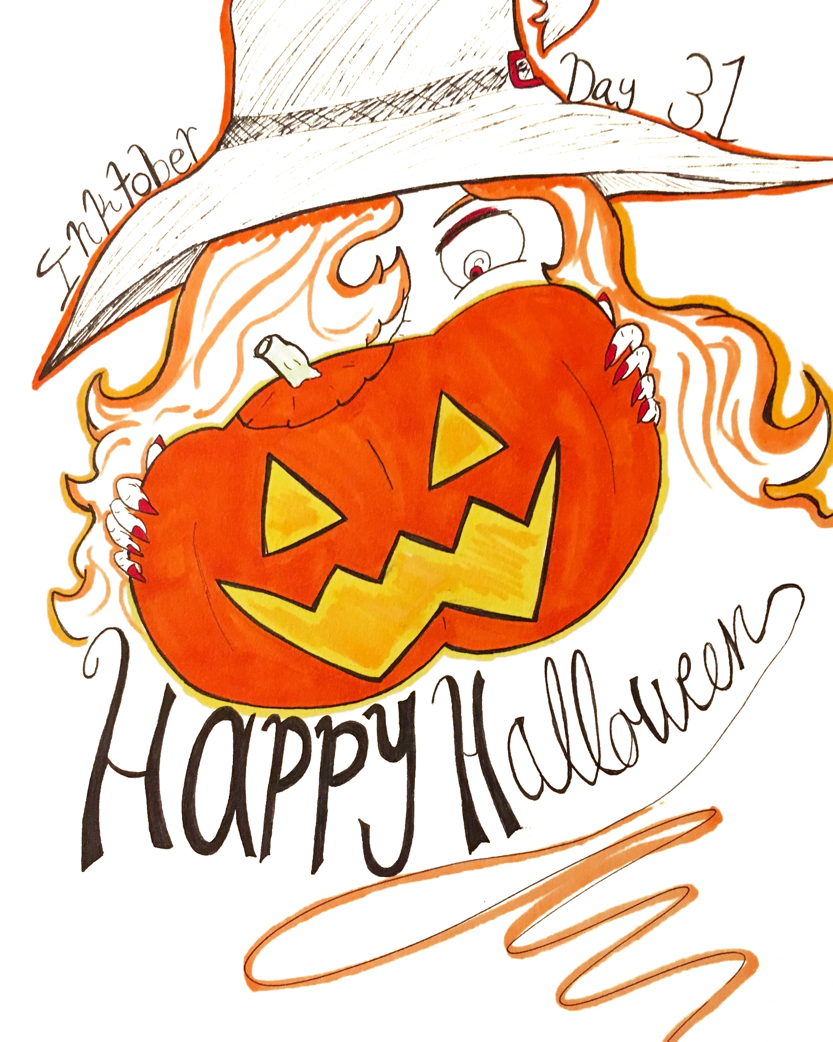 Day 31 // Happy Halloween!