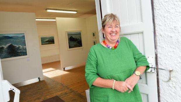 Successful artist Majella O'Neill Collins pictured on Sherkin Island, west Cork. Pic Daragh Mc Sweeney/Provision