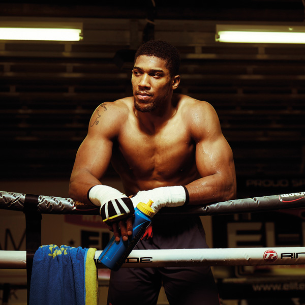 ANTHONY JOSHUA INTERVIEW FOR MEN'S RUNNING   I caught up with boxing's man of the moment a few weeks after he became the IBF heavyweight champion of the world