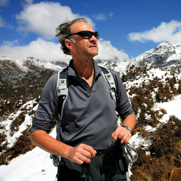 "SIR RANULPH FIENNES INTERVIEW FOR MEN'S RUNNING   The legendary adventurer on what drove him, at the age of 71, to run ""The Toughest Footrace on Earth"""