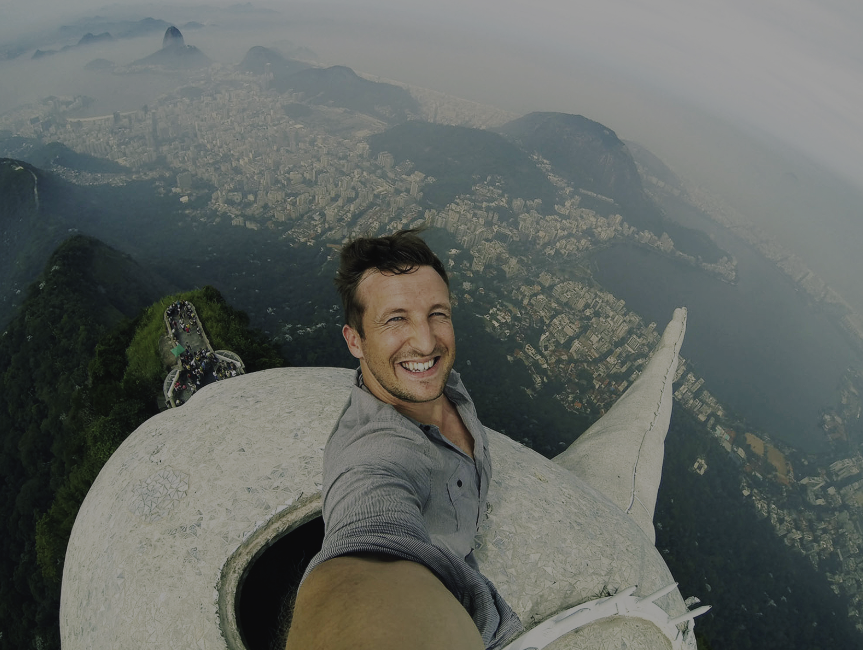 'THE SELFIE THAT RESCUED A STARTUP', FOR RSNG.COM   Lee Thompson, co-founder of Flash Pack Travel, explains how help from 'on high' helped his business boom