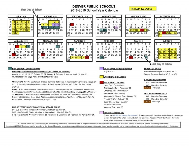Denver Public Schools 2019 Calendar Bradley International Students — Plum Hill Preschool  University Hills