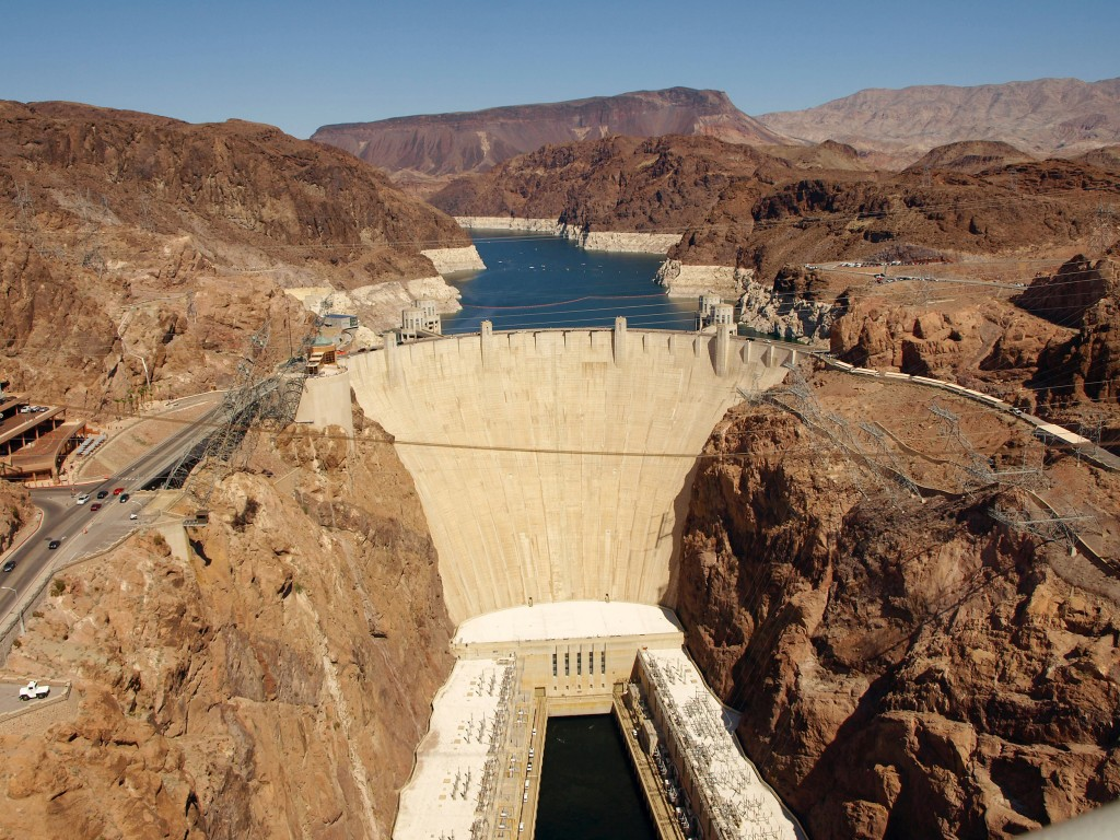 Hoover Dam, where techniques were developed to manage a portfolio of large projects and one of the large government projects where the Gantt Chart was first utilized.
