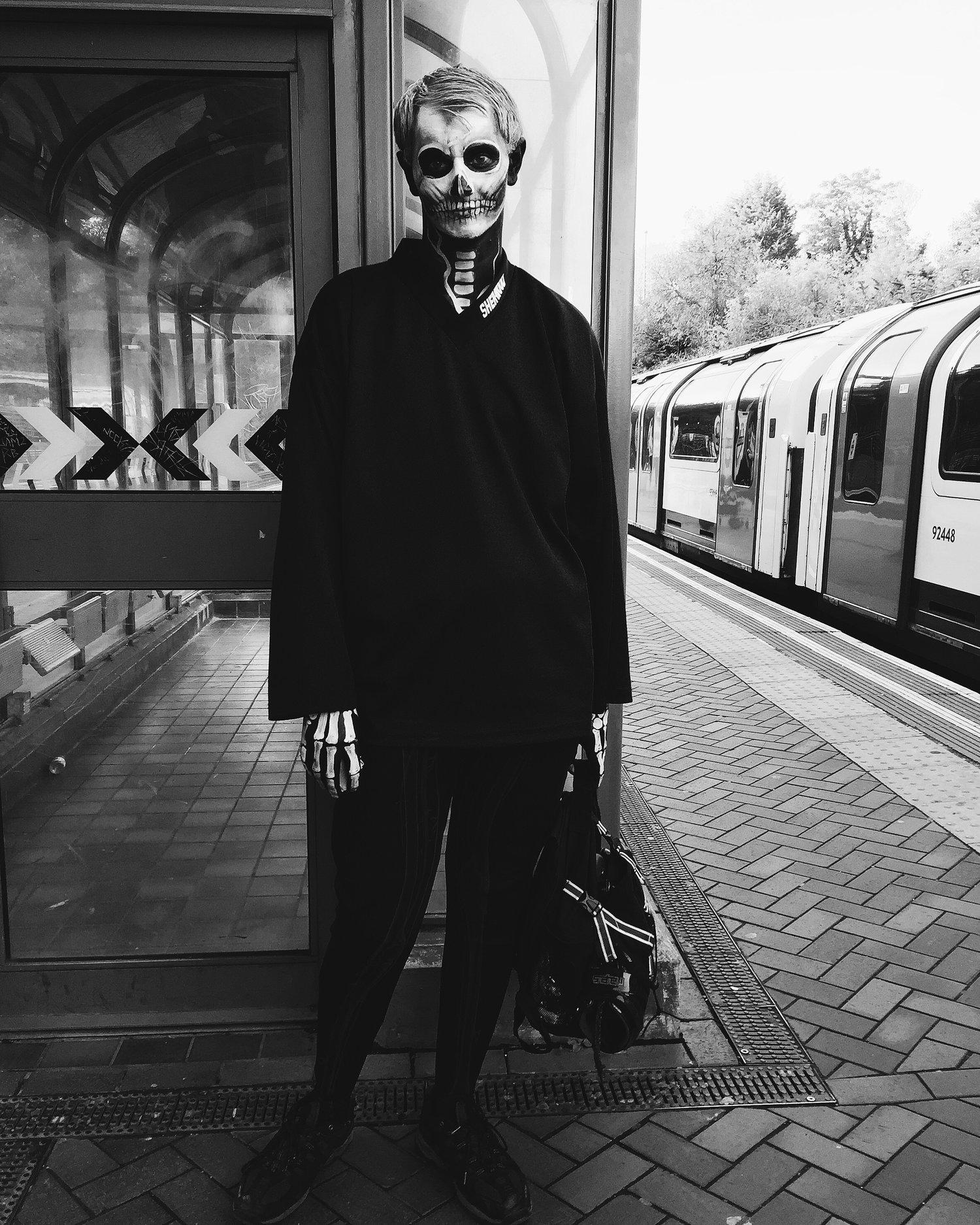 Halloween in London.