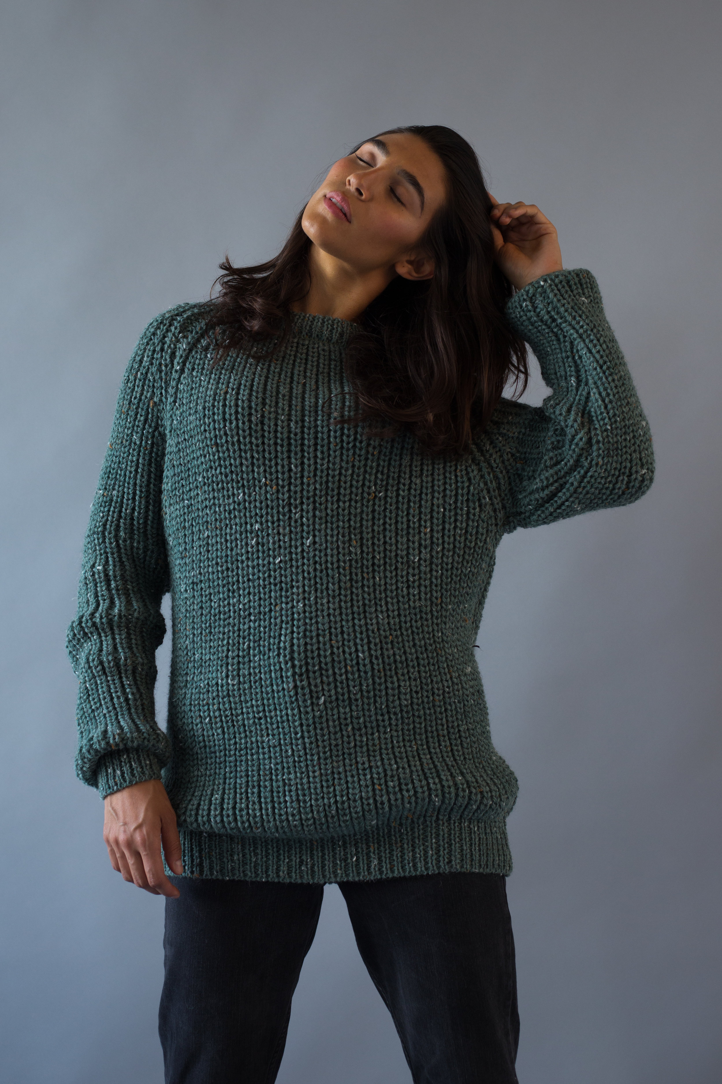 Antiform fisherman knit
