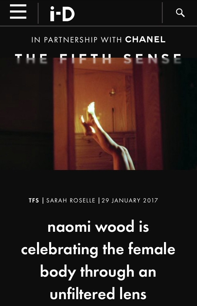 Naomi Wood i-D