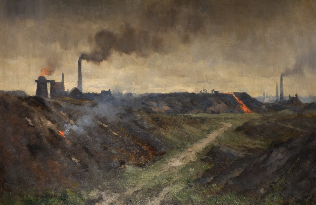 Tipping the Slag, Edwin Butler Bayliss (1874-1950)