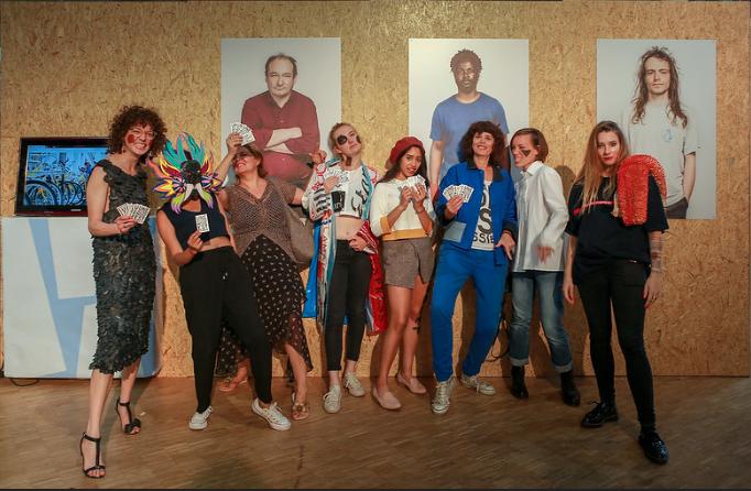 ©Atypique Atipico, Milan AV JC, Une Autre Mode est Possible, 2019, Les Blancs Manteaux.