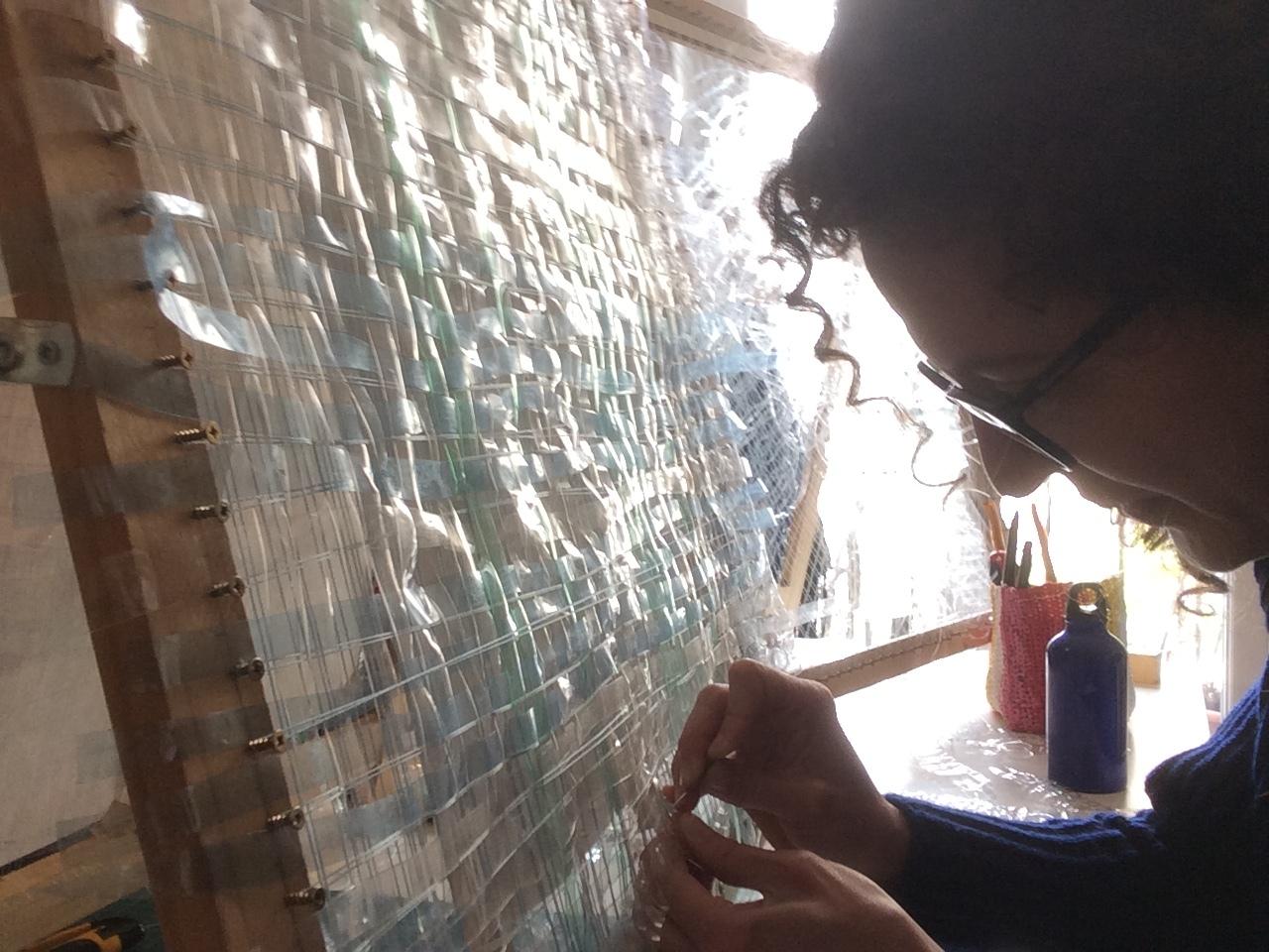 ©Atypique Aipico, 2019, Tressage Translucide avec Clarissa Acario