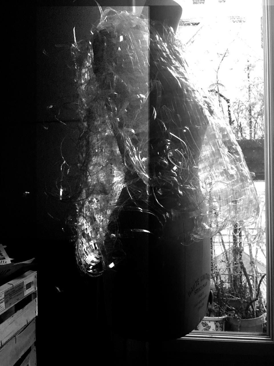 Tressage translucide, Atypique atipico, Clarissa Acario, 2019