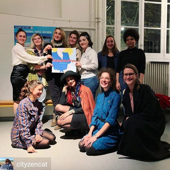 Gagnantes du concours adopte la fripe, Atypique Atipico , Acteurs de Paris Durable, 2018