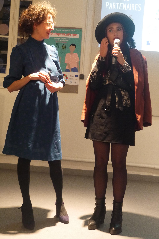 Photo par Collectif Démarqué, remise des prix du concours adopte la fripe, Atypique Atipico, 2019