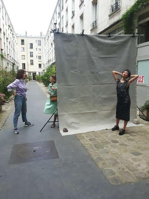 Shooting, Wylde, Atypique Atipico, Amaia, Mao, Lili Jullian, Amir Tikriti. Pour Who's Next
