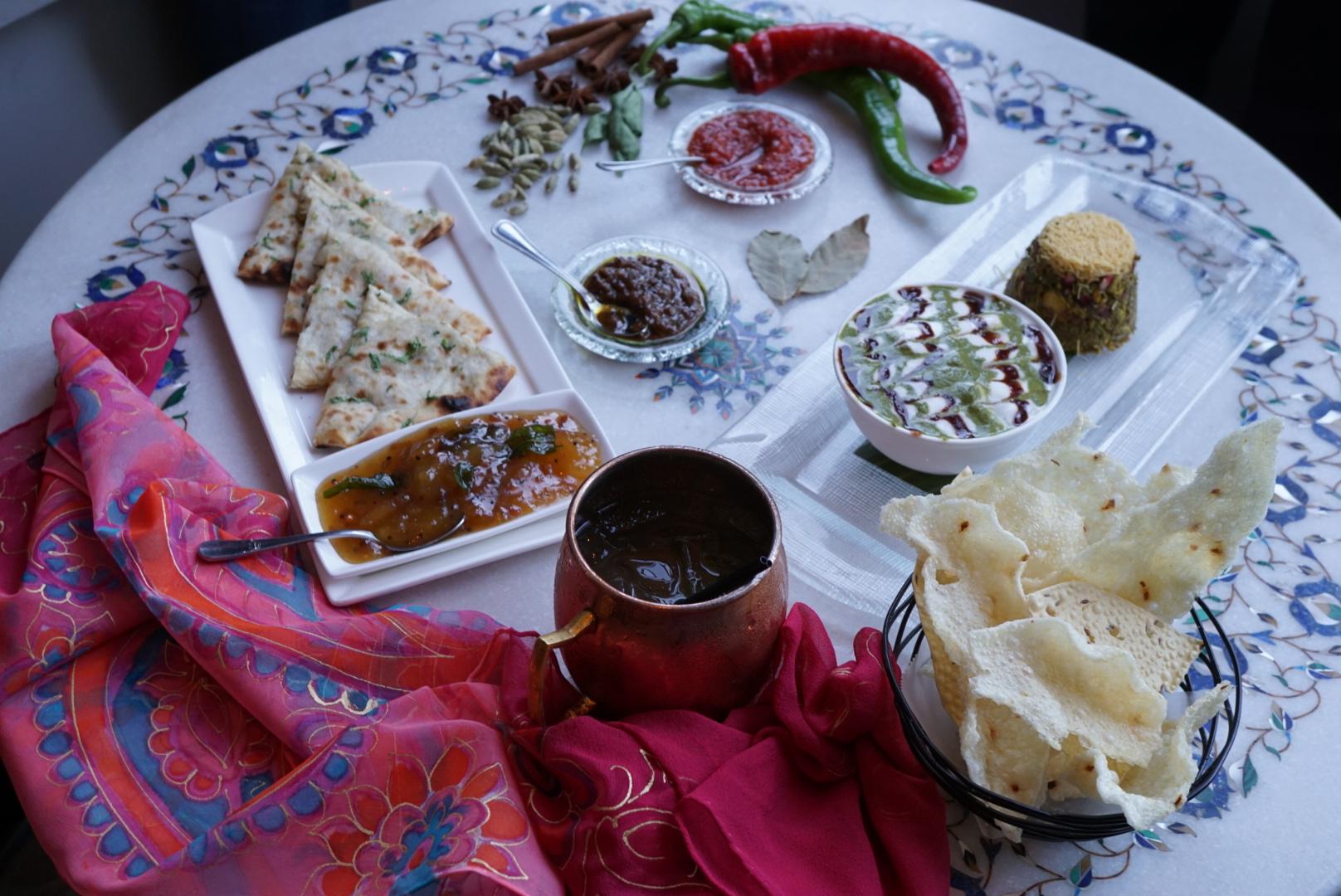 Shot for Indique Restaurant