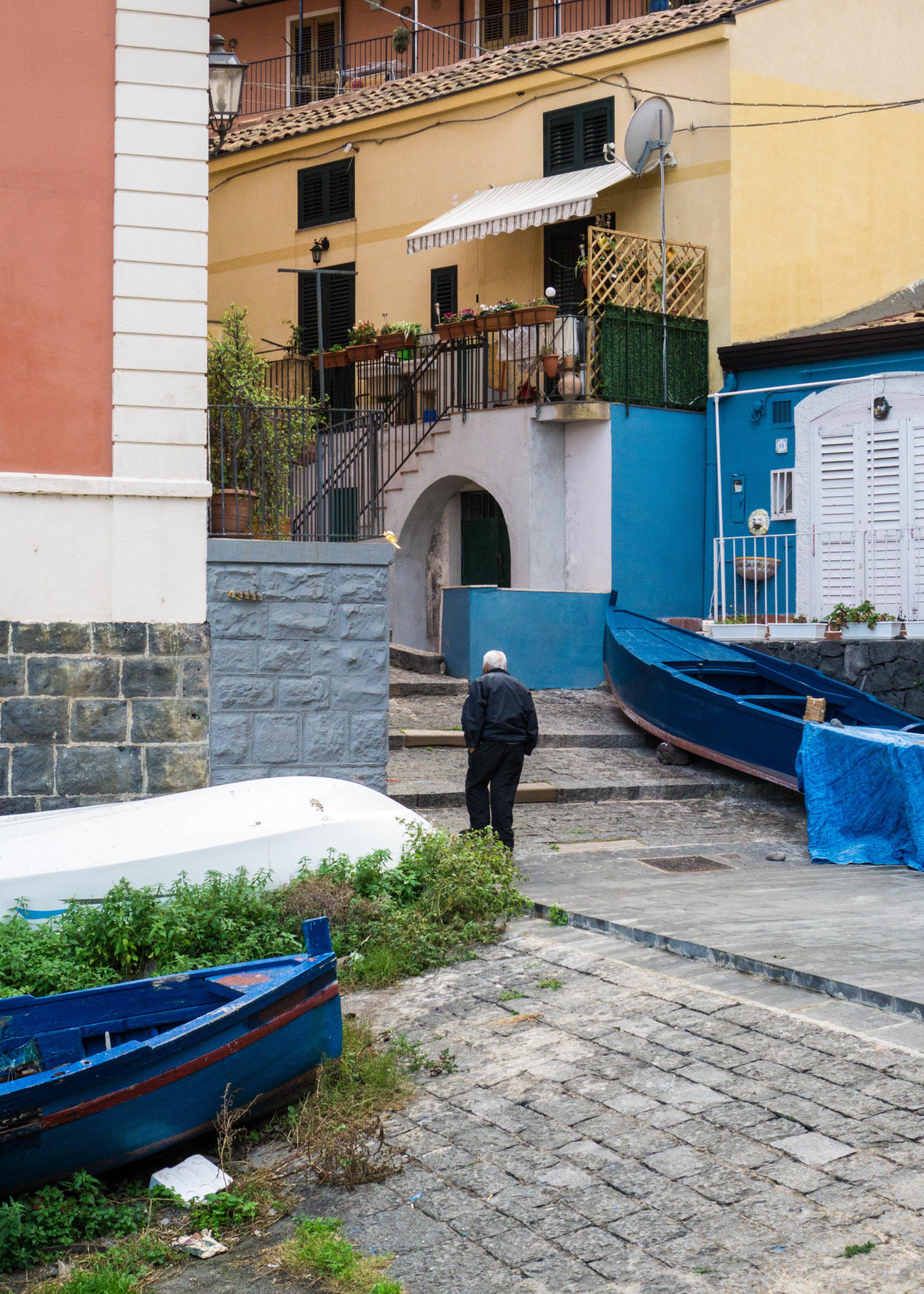 Climbing home, Sicily