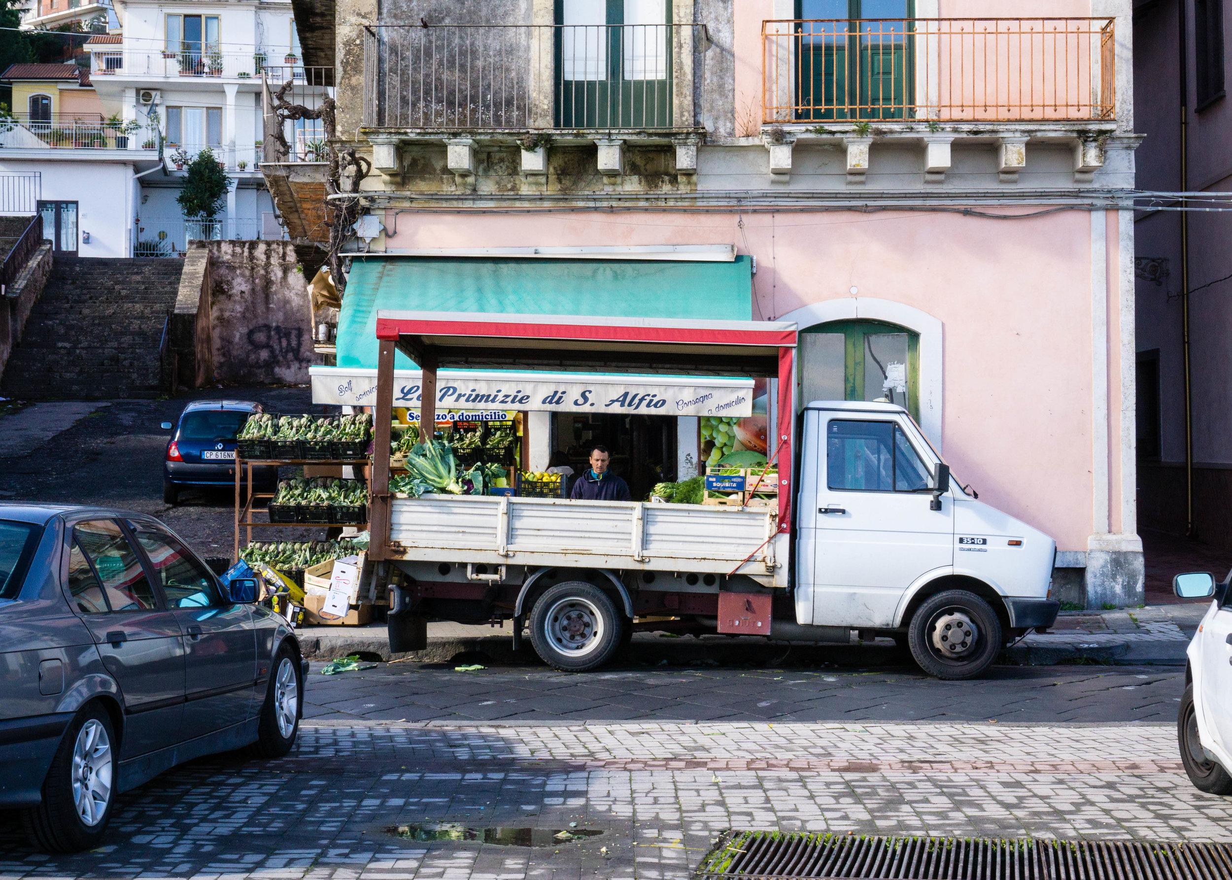 Grocer, Sicily