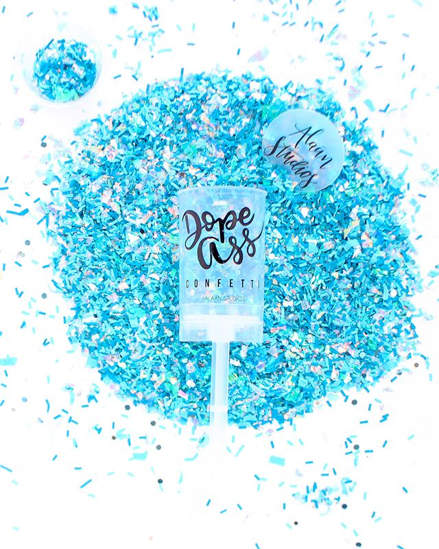 True story... Over the last year, we designed, re-designed, and then completely scrapped and started all over again on the mixes and designs for our confetti poppers. (Yes, we're crazy! 😜) I don't know if we struggle with perfection or procrastination, but if I'm being honest... I'd have to say it's probably both!!! Anywhoo, one day we were heard Mark Cuban say that perfection is the enemy of profitability. It really struck a chord with us, and we realized we had to stop getting in our own way. Sometimes it takes being hit with the ugly truth in order to get yo'self together!!! We decided that we didn't need to keep re-working something that was already Dope AF. What he said made us realize that what we were doing was a complete waste of time. Since then, we've started to plan everything in advance, and we've also started batching our work in order to stay focused and get things completed in a timely manner... you know, business 101 stuff, lol!!! 😂😂😂 What's something  that you do to keep yourself in check and your business on track?