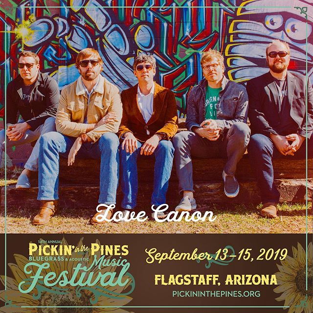 Find us at @pickininthepines in beautiful Flagstaff AZ on 9/14! Can't wait!
