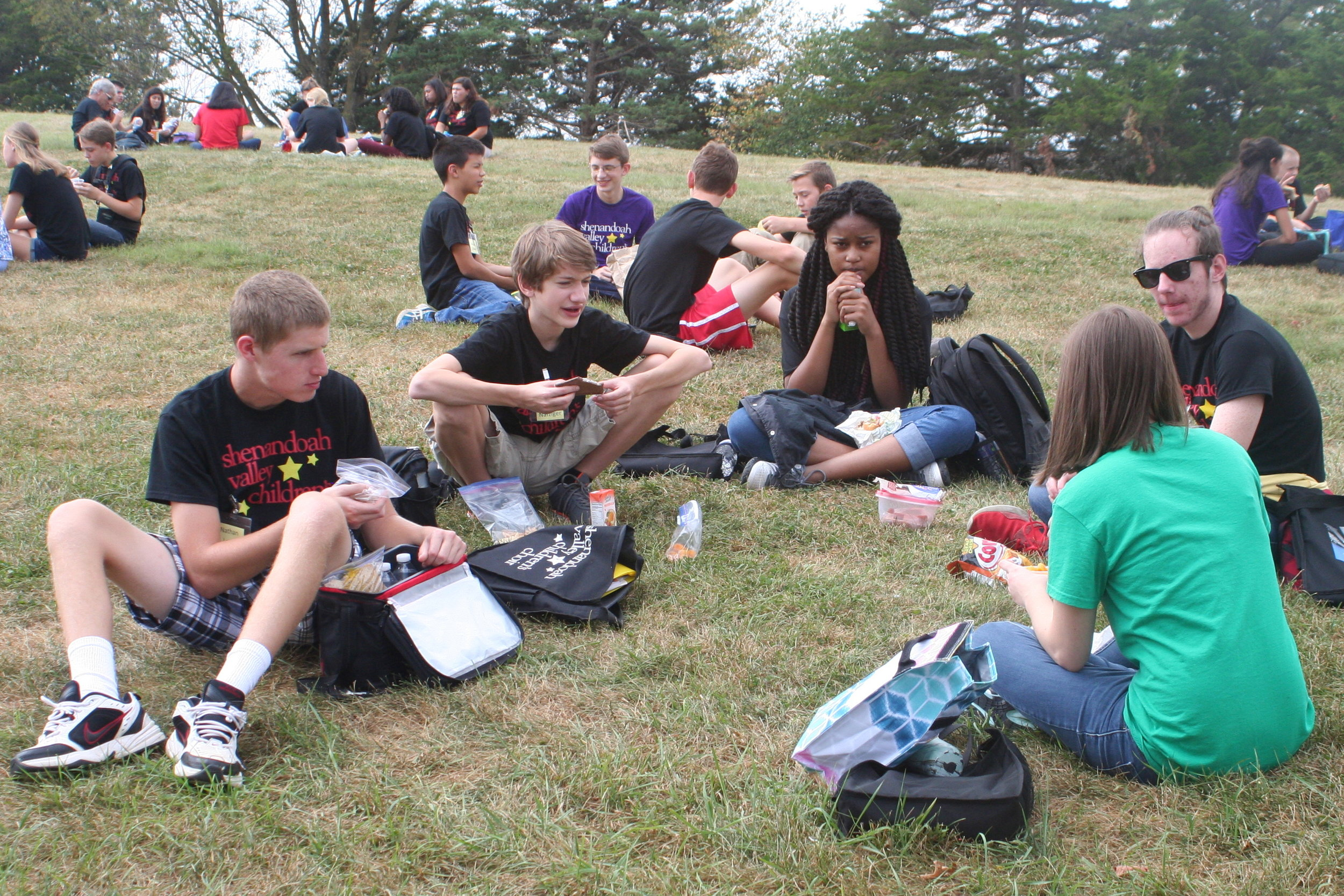 2016 (CC) Lunch on Hill at Retreat.JPG