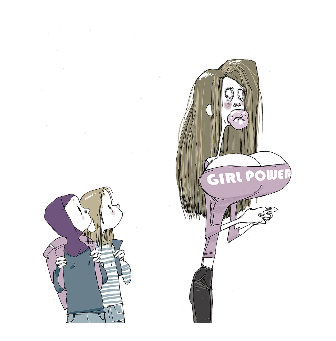 Girl Power, redefined, 2010