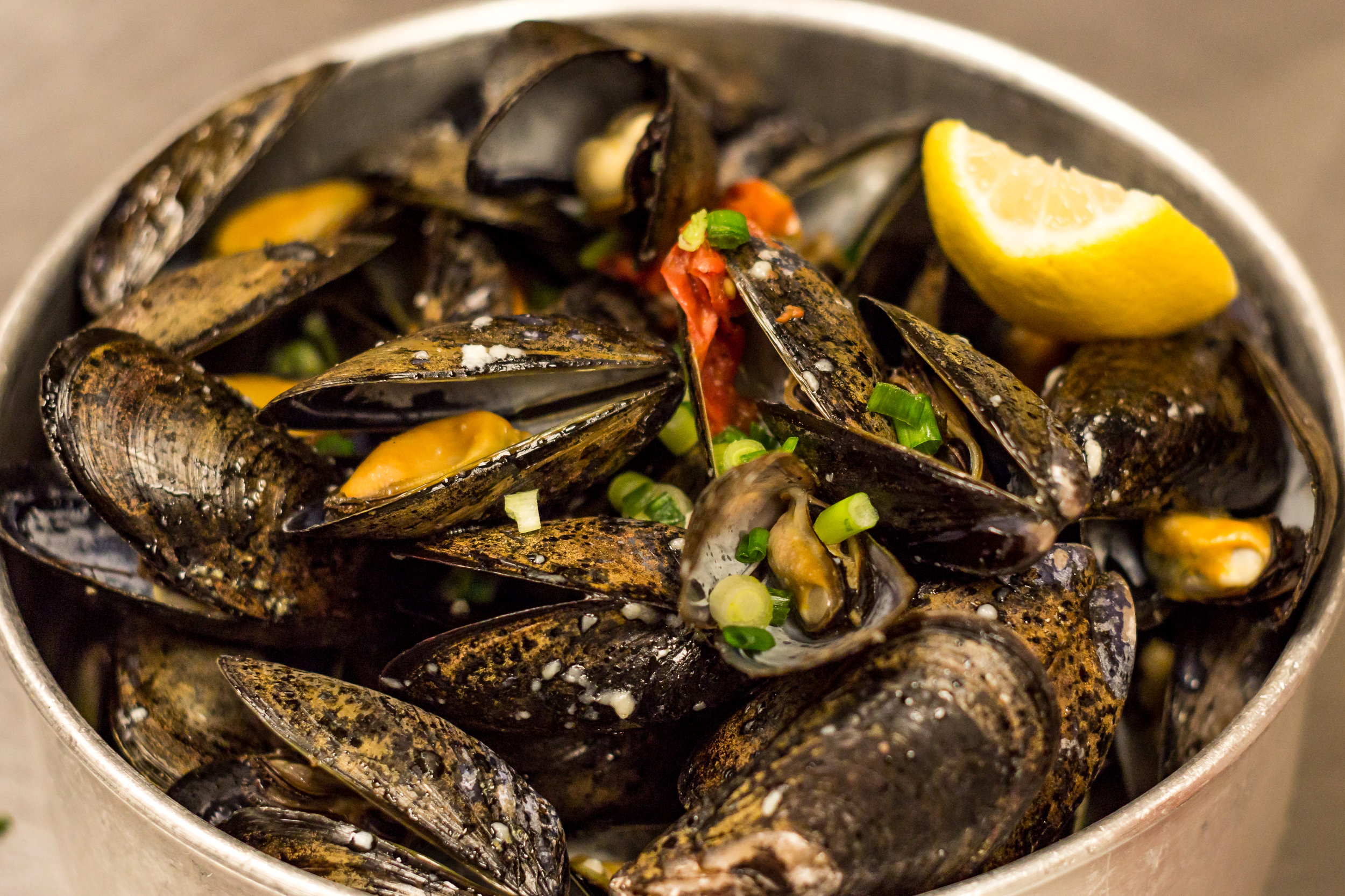 Big Ol' Bowl of Mussels-of-the-Day