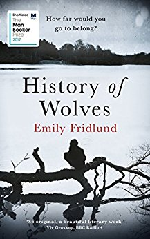 Book cover of History of Wolves by Emily Fridlund. Review by Allie Cresswell allie-cresswell.com