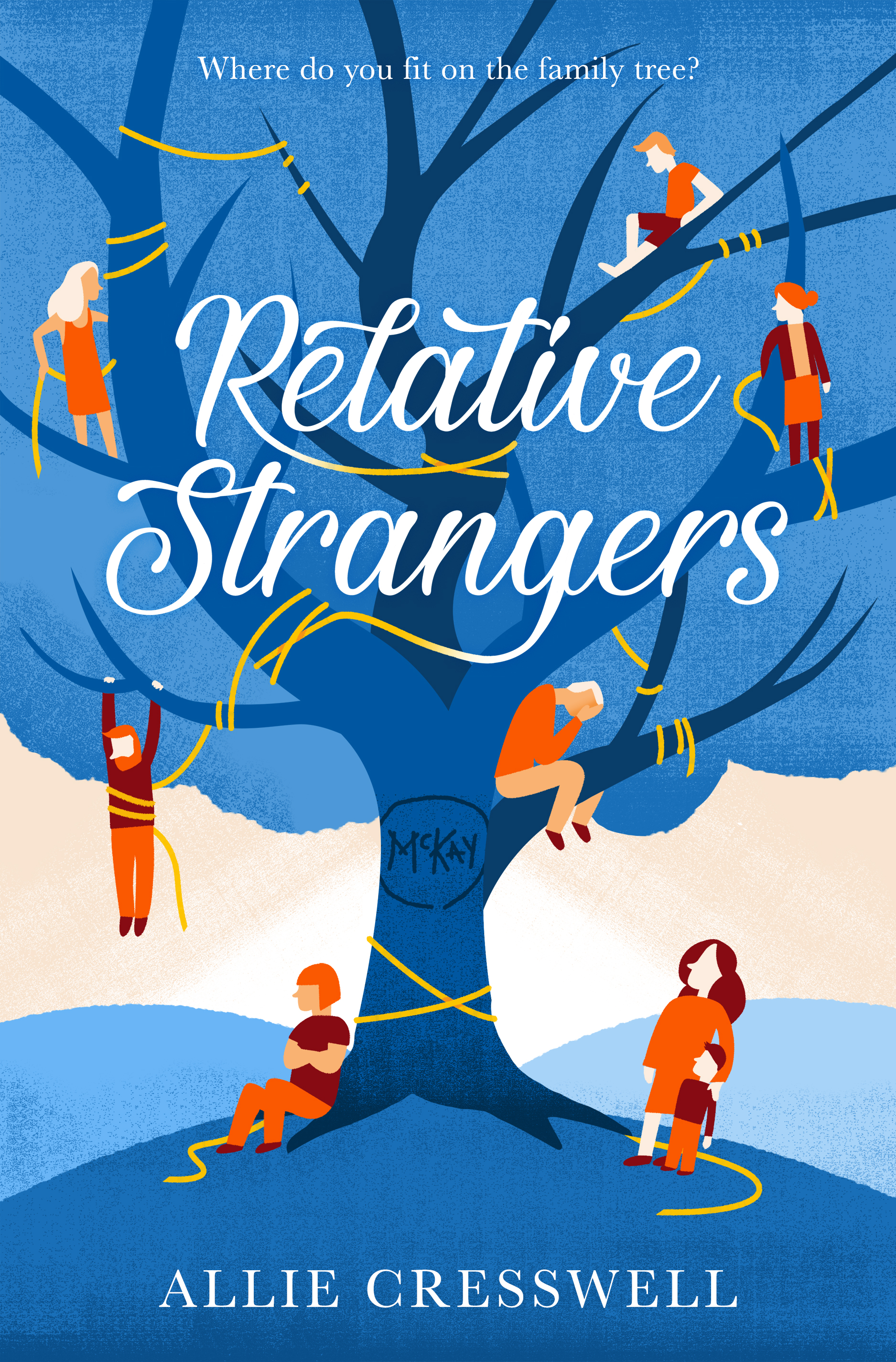 Relative Strangers by Allie Cresswell